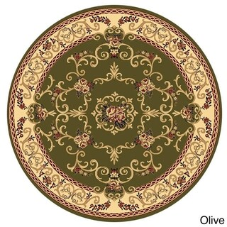 Empire 702 Round Rug (5'3) - 5'3 (2 options available)
