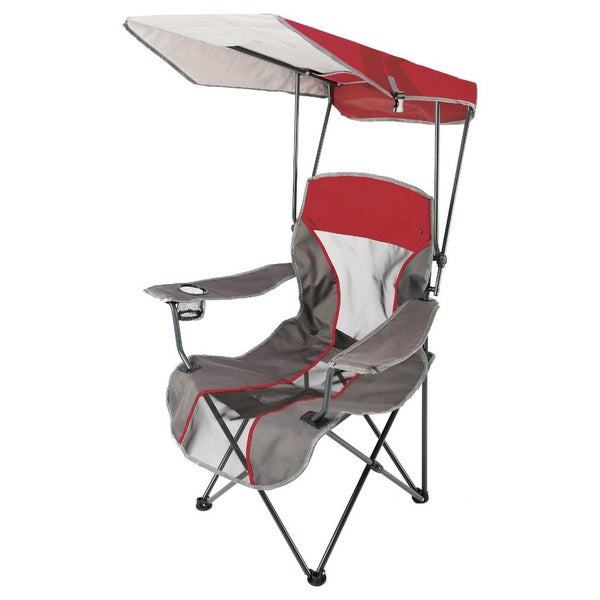 Kelsyus Premium Red Canopy Folding Chair