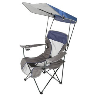 Premium Navy Canopy Chair