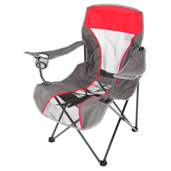 Kelsyus Red Backpack Quad Chair