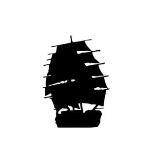 Boat Yacht Ship Vinyl Wall Decal