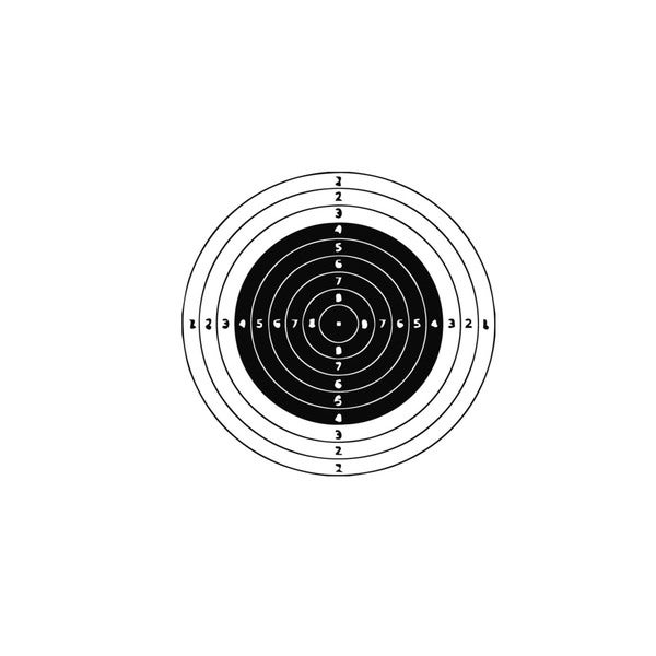 Shop Shooting Target Vinyl Wall Art Decal - Free Shipping On Orders ...