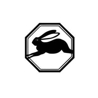 Rabbit Sign Vinyl Wall Art Decal