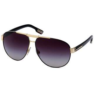 Dolce & Gabbana Men's 'DG 2099 10818G' Aviator Sunglasses