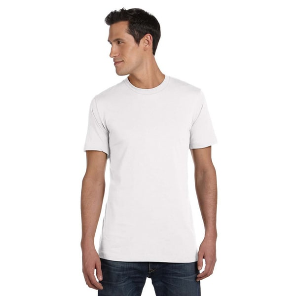 Canvas Mens Short Sleeve Fitted T-shirt