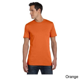 Canvas Men's Short Sleeve Fitted T-shirt