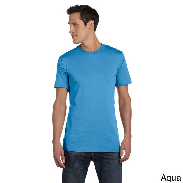 Canvas Men's Short Sleeve Fitted T-shirt. Opens flyout.
