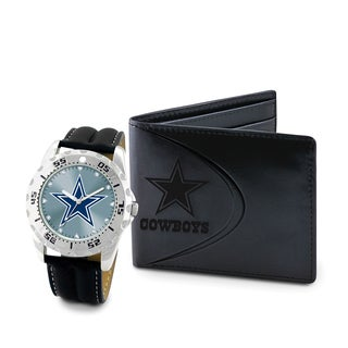 Shop Game Time Dallas Cowboys Watch And Wallet Gift Set