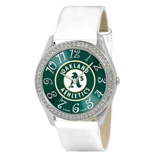 Game Time MLB Oakland Athletics Women's Glitz Patent Leather Watch|https://ak1.ostkcdn.com/images/products/8970674/Game-Time-MLB-Oakland-Athletics-Womens-Glitz-Patent-Leather-Watch-P16179214.jpg?_ostk_perf_=percv&impolicy=medium