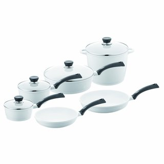 Berndes 697601 SignoCast Pearl Ceramic Coated Cast Aluminum 10-piece Cookware Set