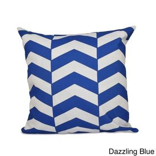 Geometric Zig-zag 20x20-inch Decorative Pillow