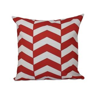 Geometric Zig-zag 18x18-inch Decorative Pillow