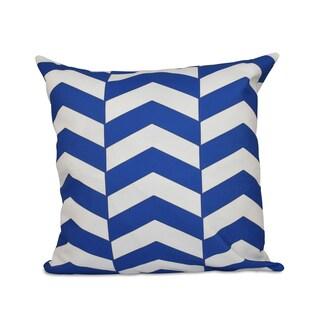Geometric Zig-zag 16x16-inch Decorative Pillow