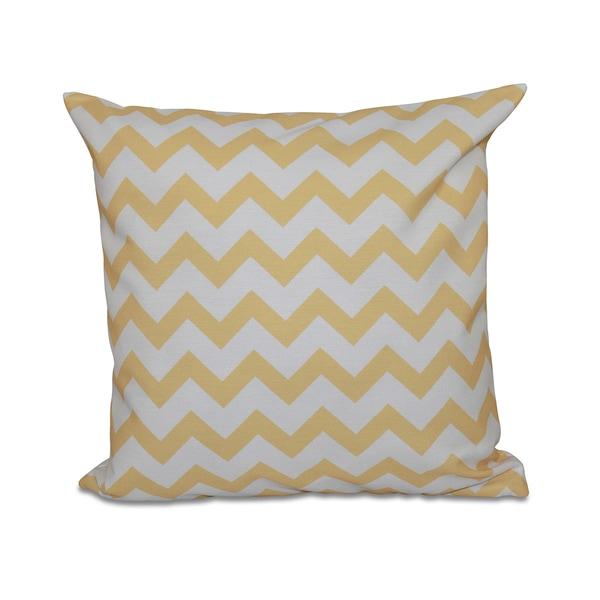 Bright Zig-zag 18x18-inch Decorative Pillow