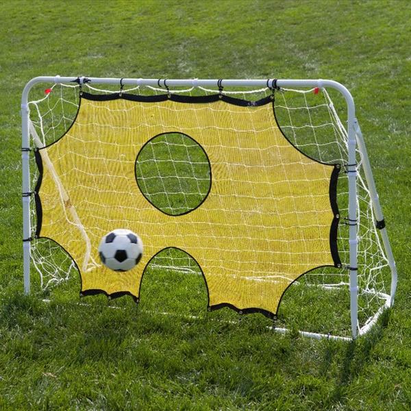 Lion Sports 3-in-1 Soccer Goal Trainer Net (6' x 4')