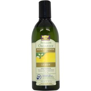 Avalon Organics Bath & Shower Lemon 12-ounce Gel