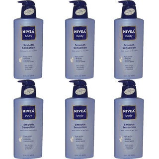 Nivea Body Smooth Sensation 13.5-ounce Daily Dry Skin Lotion (Pack of 6)