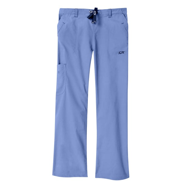 04e8a9e9047 Shop IguanaMed Women's Ceil Blue Legend Cargo Scrubs Pants - Free Shipping  On Orders Over $45 - Overstock - 8970964