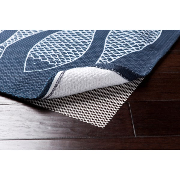 Supreme Outdoor Lock Grip Reversible Hard Surface Non-Slip Rug Pad (4' x 6') - 4' x 4'/4' x 7'