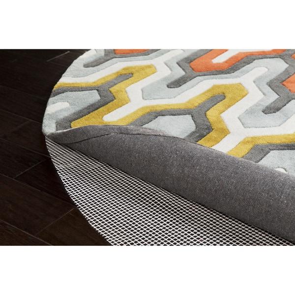Ultra Lock Grip Reversible Hard Surface Non-Slip Rug Pad-(6' Round)