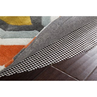 Ultra Lock Grip Reversible Hard Surface Non-Slip Rug Pad (6' x 9' Oval) - 6' x 9'