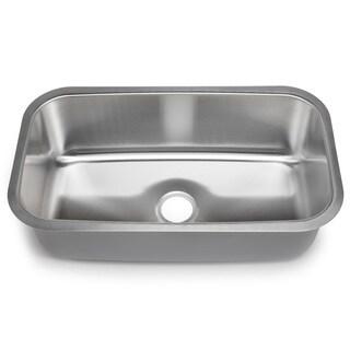 Designer Collection 16-gauge Extra-large Single Bowl Sink