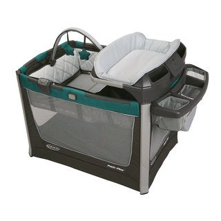 Graco Pack 'n Play Smart Station in Sapphire