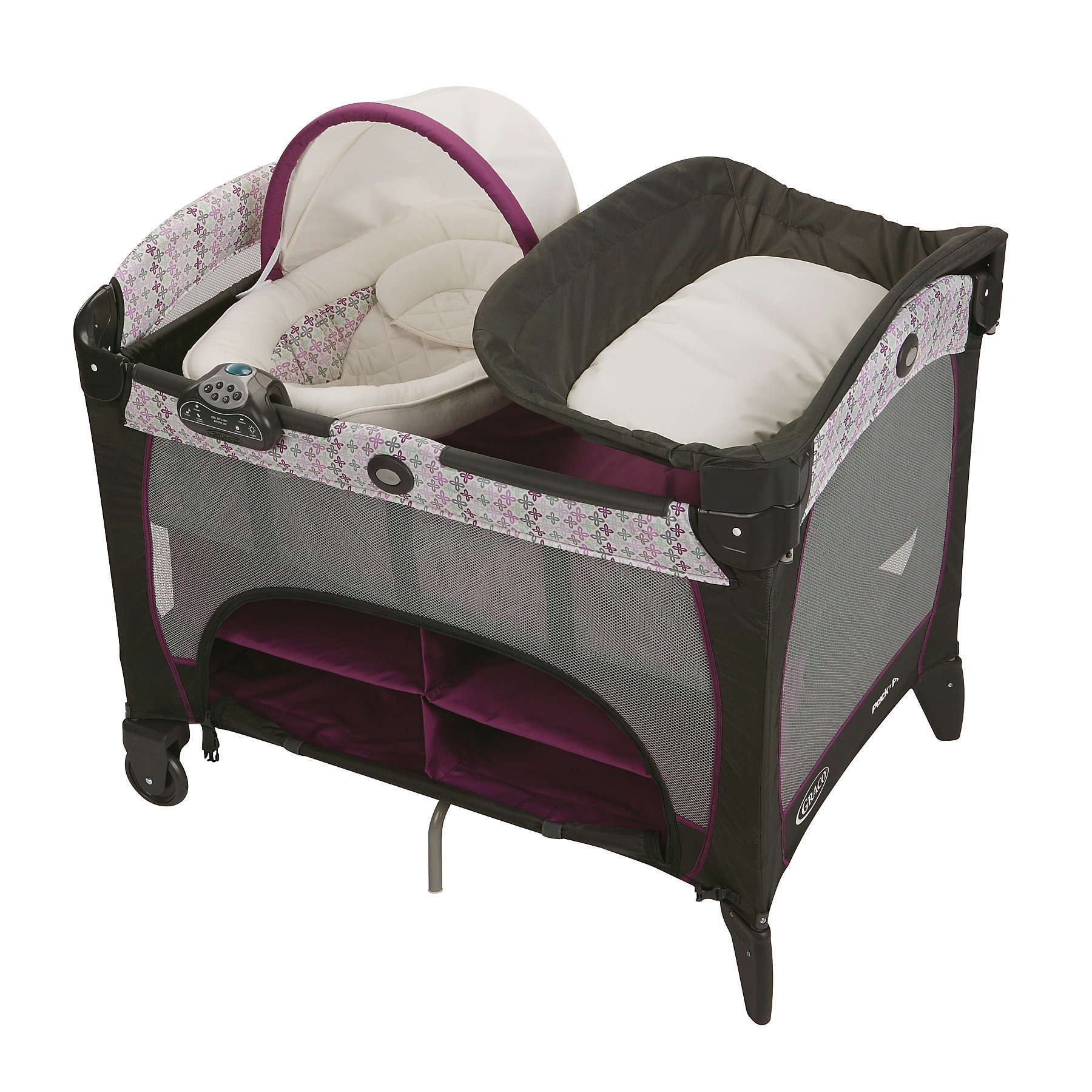 Graco Pack 'n Play with Newborn Napper Station DLX in Nys...