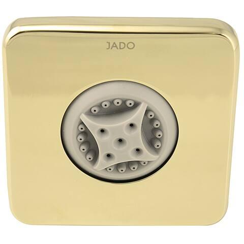 Jado Luxury Multi-function Square Diamond Gold Body Spray