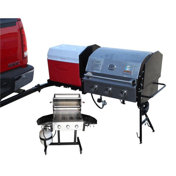 Party King Grills Swing N Smoke Mvp9212 Large Tailgate
