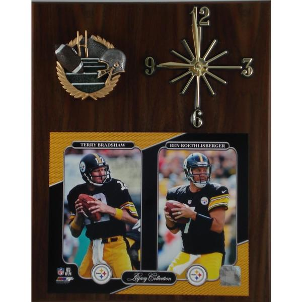Legacy Steelers Clock