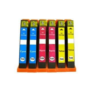 6PK (2C/2M/2Y) Replacing Epson T273XL T273XL220 T273XL320 T273XL420 Epson Expression Premium XP-610 XP-810 XP-600 XP-800