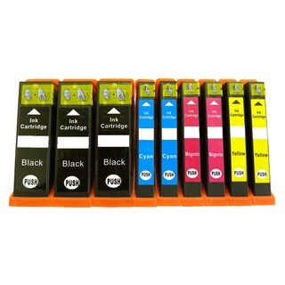 9PK (3K/2C/2M/2Y) Replacing Epson T273XL T273XL220 T273XL320 T273XL420 Epson Expression Premium XP-610 XP-810 XP-600 XP-800