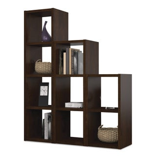 Bestar 'York' Chocolate 9-section Cubby