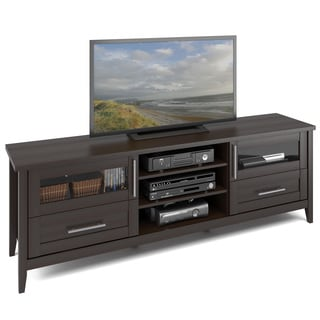 CorLiving TJK-687-B Jackson Espresso Extra Wide TV Bench