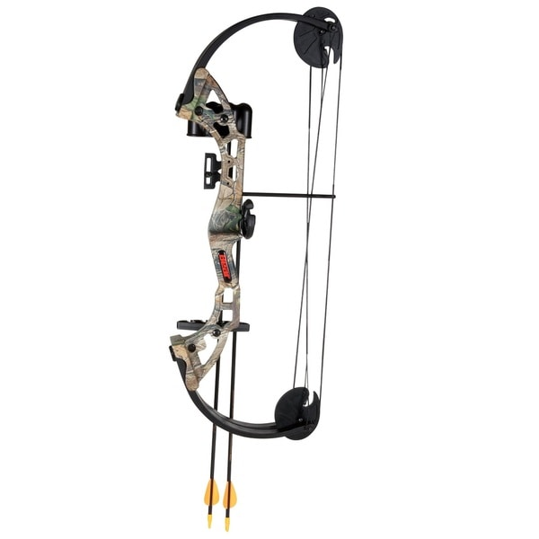 Bear Archery Warrior Camo Bow Set