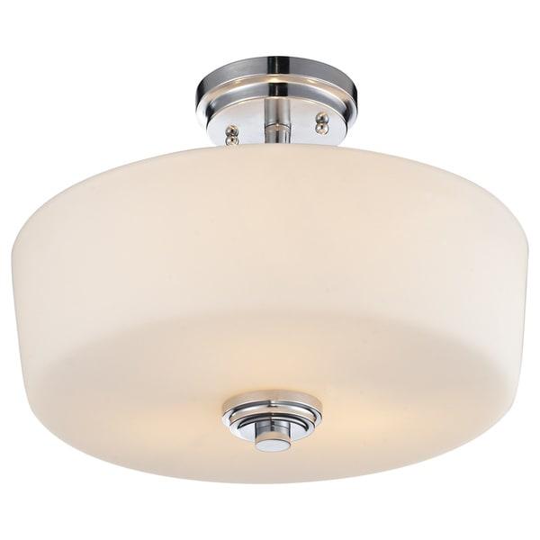 Lamina 3-light Semi-flush Mount Light