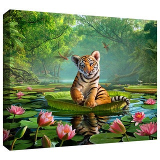 Jerry LoFaro 'Tiger Lily' Gallery-Wrapped Canvas