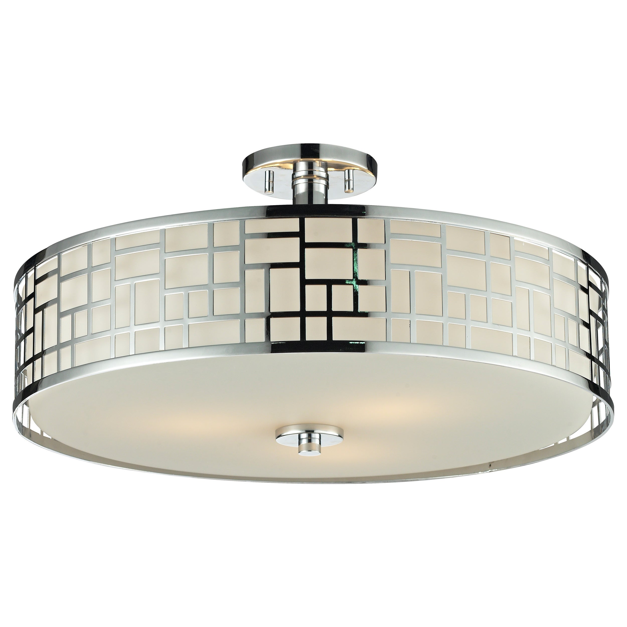 Light 20 5 Inch Semi Flush Mount