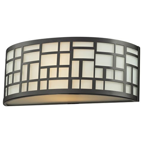 Avery Home Lighting Elea 1-light Bronze Indoor Wall Sconce