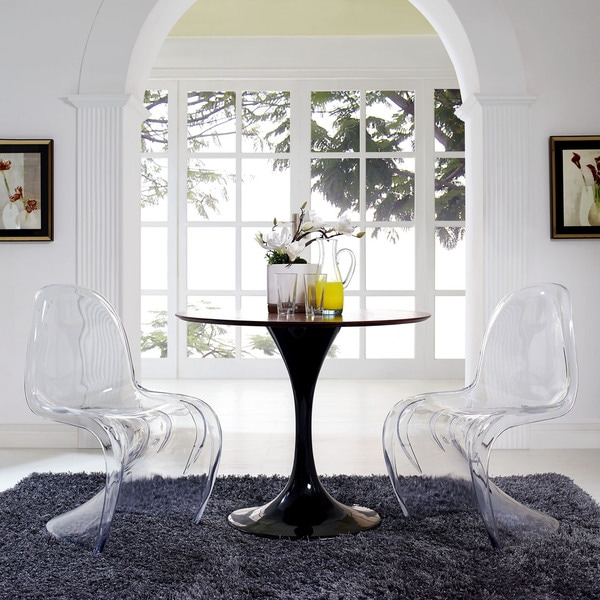 slither clear dining chair set - free shipping today - overstock