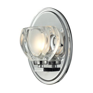 Z-Lite Hale 1-light Chrome Vanity Light