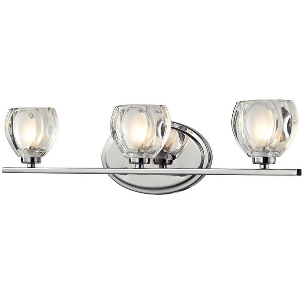 Shop avery home lighting hale 3 light chrome vanity light on sale avery home lighting hale 3 light chrome vanity light aloadofball Image collections