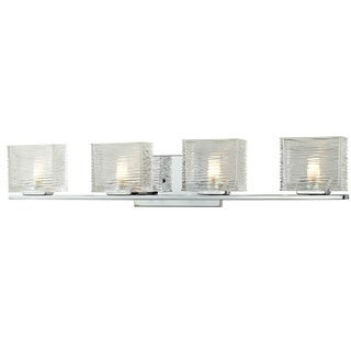 Jaol 4-light Polished Chrome Vanity Light