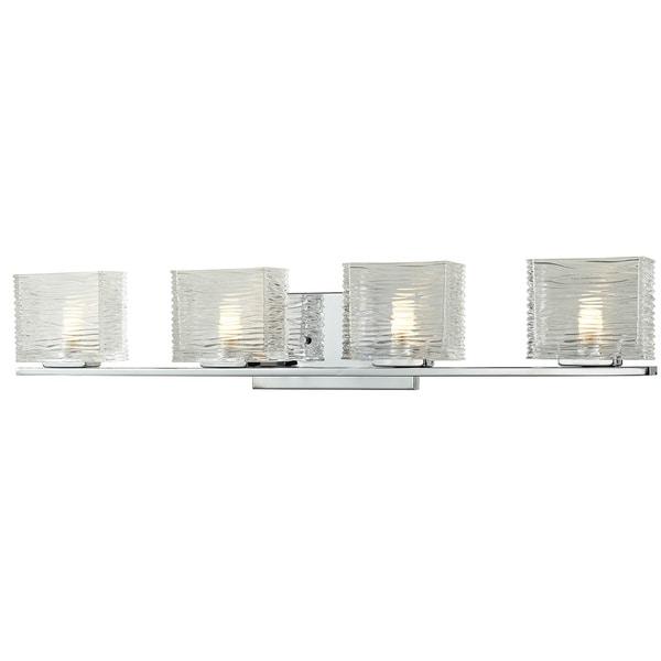 Avery Home Lighting Jaol 4-light Polished Chrome Vanity Light