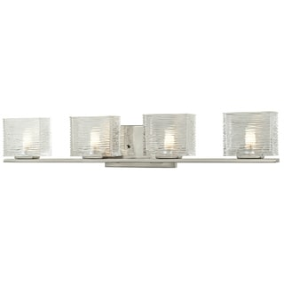 Z-Lite Jaol 4-light Brushed Nickel Vanity Fixture