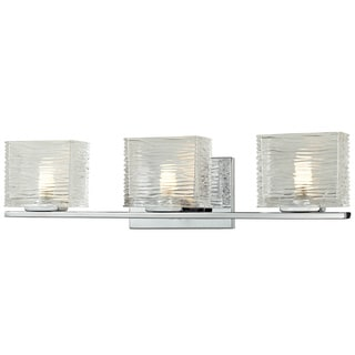 Z-Lite Jaol 3-light Polished Chrome Vanity Light