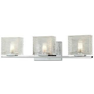 Jaol 3-light Polished Chrome Vanity Light