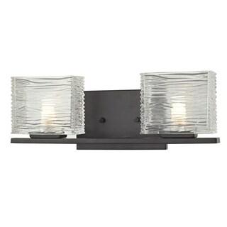 Z-Lite Jaol 2-light Bronze Vanity Light