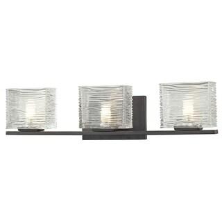 Z-Lite Jaol Bronze 3-light Vanity Fixture